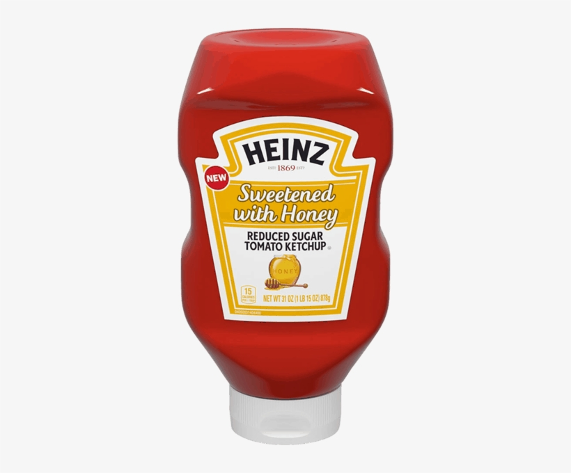 Simply Heinz Tomato Ketchup - 20 Oz Bottle, transparent png #1054388