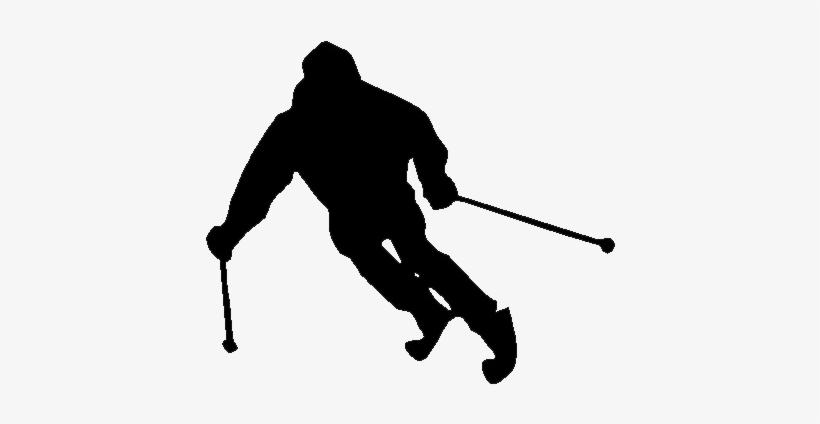 Skiing Png File - Cafepress I Ski Super Power Sticker, transparent png #1054652