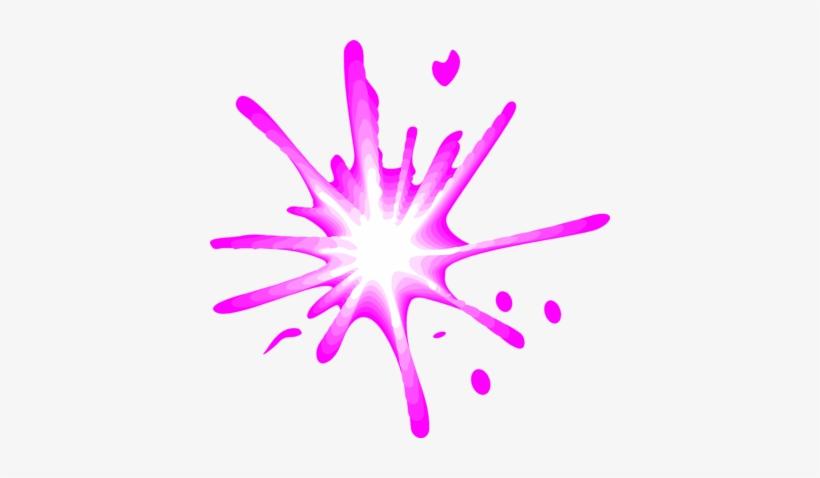 Illustration Of A Pink Splash - Splash Of Paint Transparent Background, transparent png #1058558