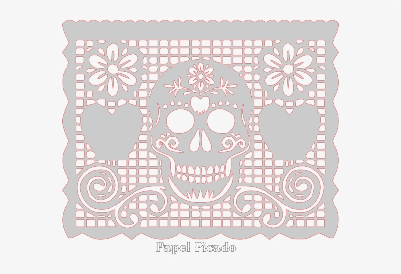 Papel Picado Design Papel Picado Dia De Muertos Moldes
