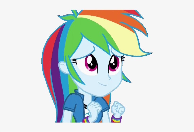 Stacyhirano34, Equestria Girls, Not A Vector, Rainbow - Mlp Eqg Rainbow Dash Cute, transparent png #1058997