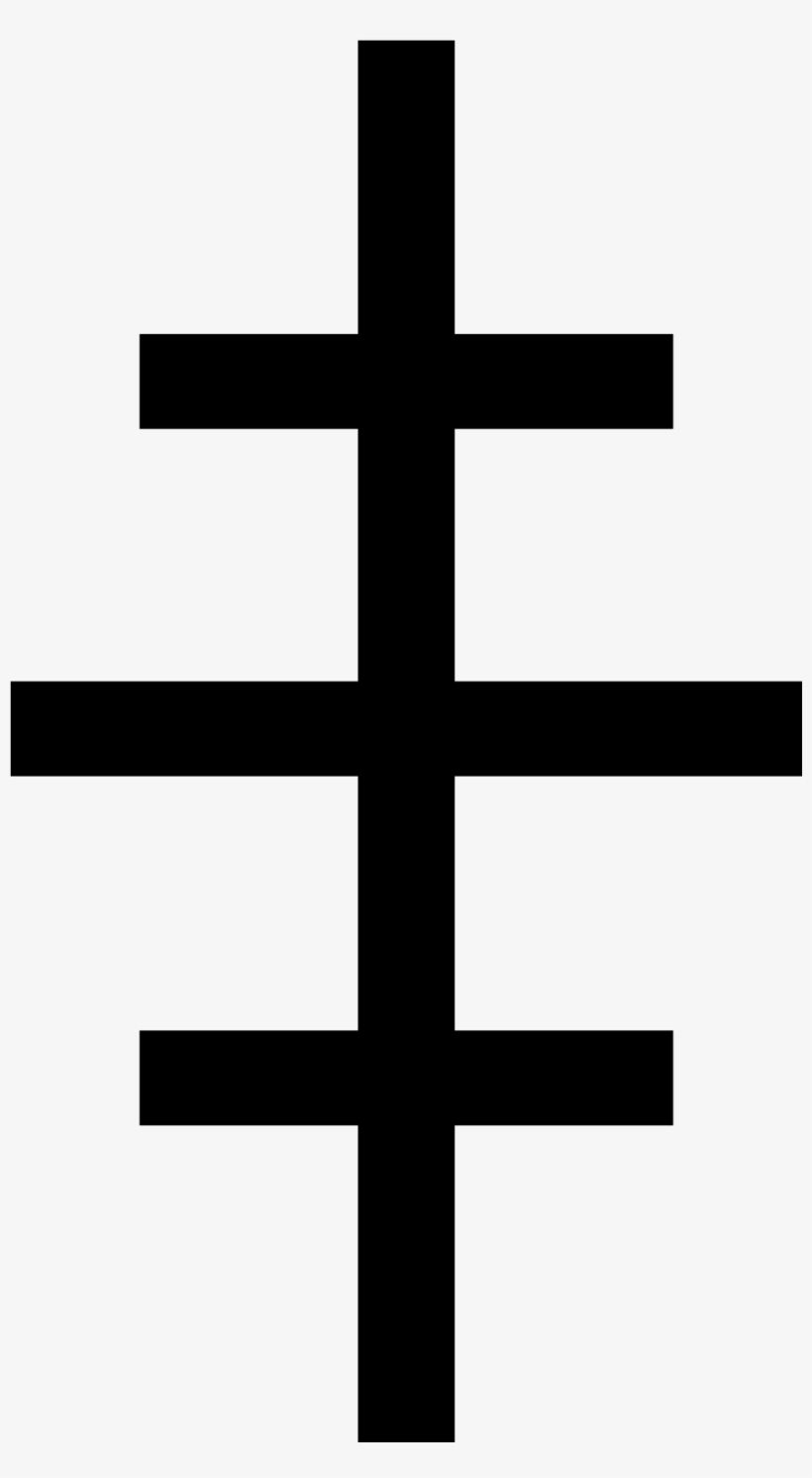 Three Barred Cross, transparent png #1059247