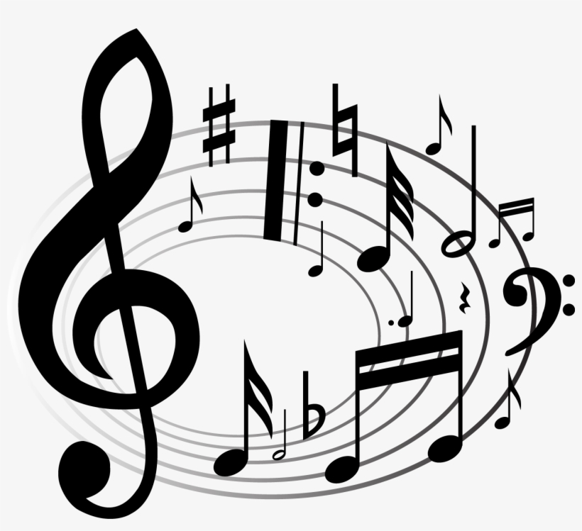 Sheet Music Clipart Images - Transparent Background Music Notes Png, transparent png #1059815