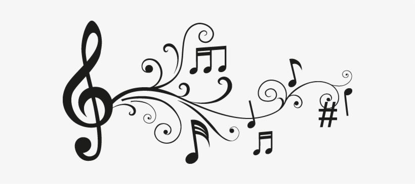 Vinilos Decorativos Notas Musicales Dibujos De Notas Musicales