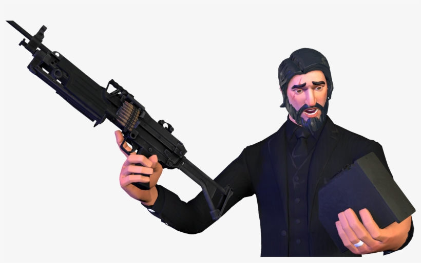 Superbee On Twitter John Wick Fortnite Png Free Transparent Png Download Pngkey