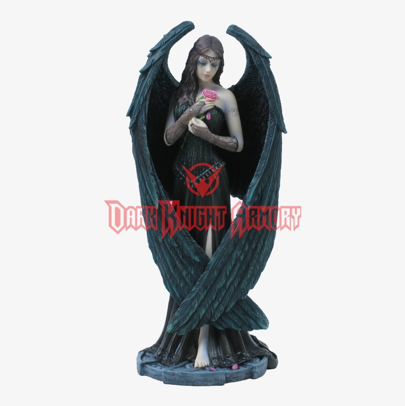 Angel Rose Figurine (anne Stokes), transparent png #1061416