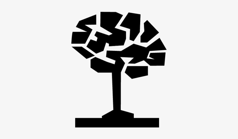 Tree Brain Conceptual Symbol Vector - Wisdom Icon, transparent png #1063423