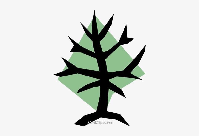 Tree Symbol Royalty Free Vector Clip Art Illustration, transparent png #1063471
