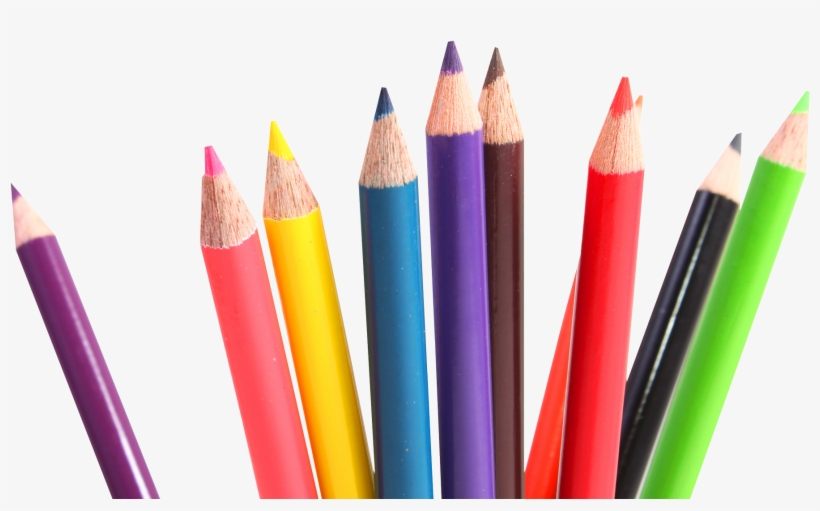 Multicolor Png Image Best - Transparent Crayons Png - Free
