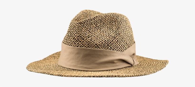 Straw Safari Hat - Safari Hat Png, transparent png #1063891