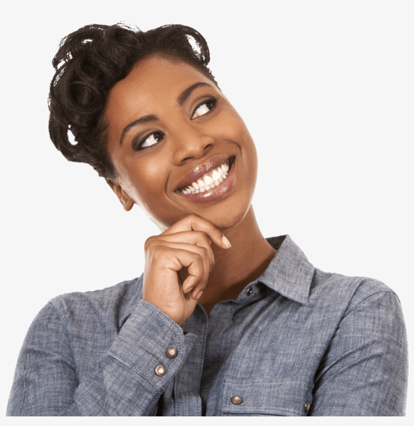 Smile Woman Africans Happy - African American Woman Png, transparent png #1064314