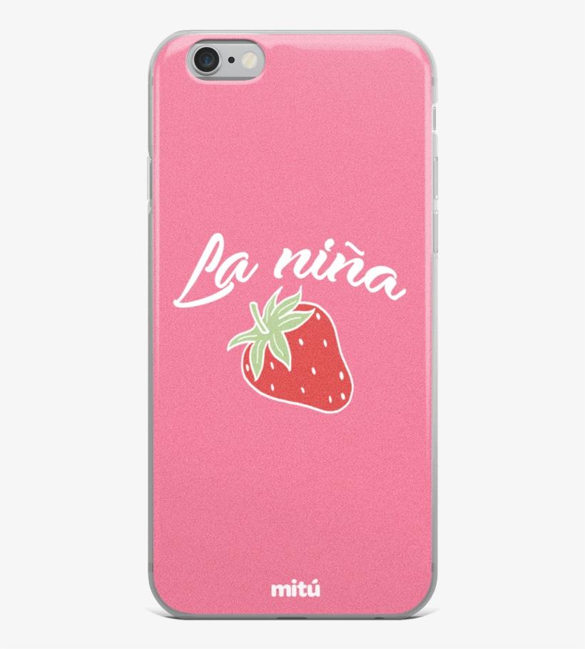 La Niña Fresa Phone Case - Mobile Phone Case, transparent png #1064691