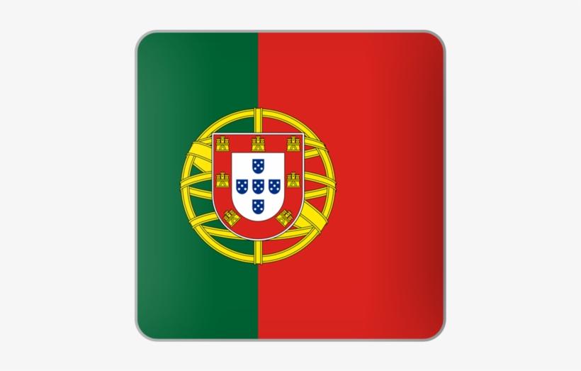 Illustration Of Flag Of Portugal - East Africa Flag, transparent png #1066055