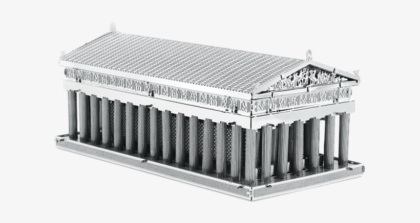 Picture Of Parthenon - Fascinations Metalearth 3d Laser Cut Model - Parthenon, transparent png #1067691
