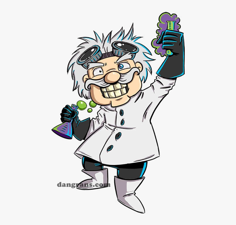Svg Transparent Download Cartoon Images S By Dsoloud Mad Scientist Cartoon Free Transparent Png Download Pngkey