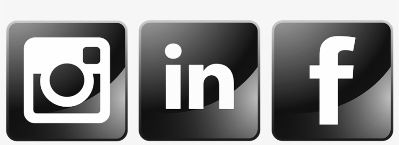 How Instagram, Linkedin And Facebook Stack Up Against - Facebook Linkedin Instagram Icons, transparent png #1072067