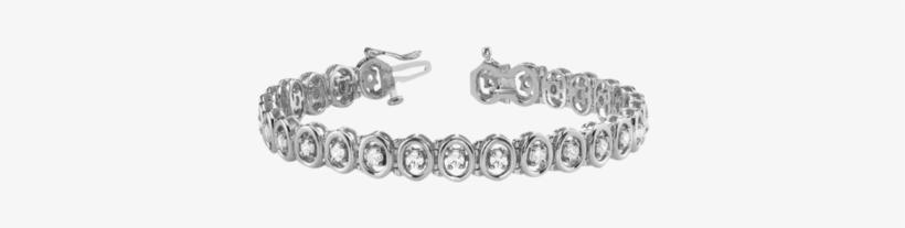 2 5/8 Ct Diamond Bracelet With F Color Vs Clarity Diamonds, transparent png #1072110