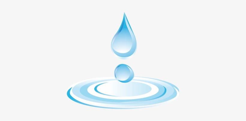 Water Droplets - Dibujo Png Gotas De Agua, transparent png #1073621