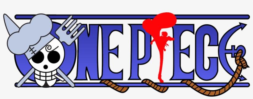 One Piece Logo Lambang One Piece Sanji Free Transparent Png Download Pngkey