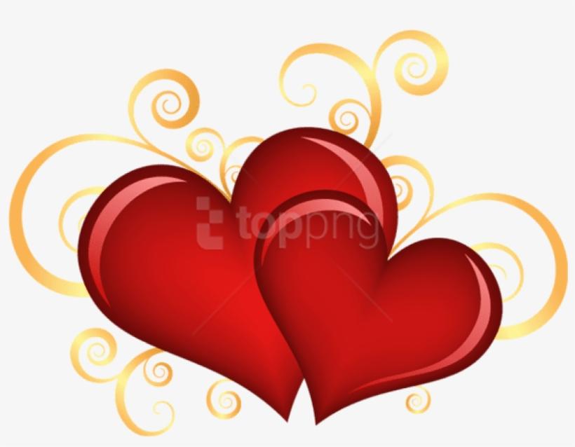 Corações Em Png Para O Dia Das Mães E Dia Dos Namorados - Love Ornament (round), transparent png #1075229