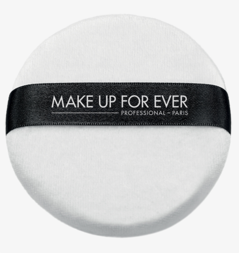 White Powder Puff 100mm - Make Up For Ever - White Powder Puff 100mm, transparent png #1076203
