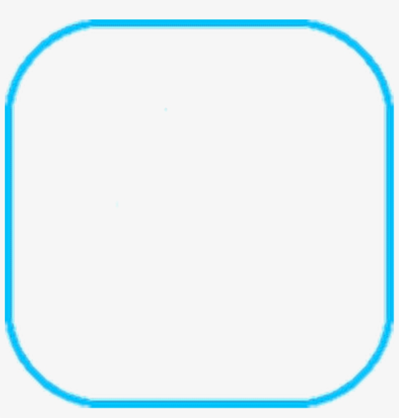 Blue Square Outline Png Clip Art Library Library - Square