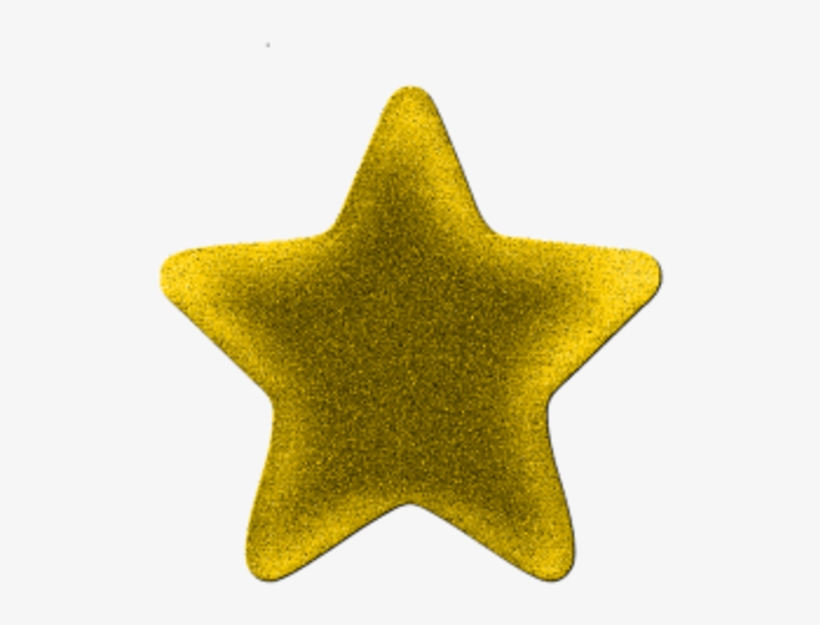 Free Stock Free Clipart Gold Star - Gold Star Pic Transparent, transparent png #1077846