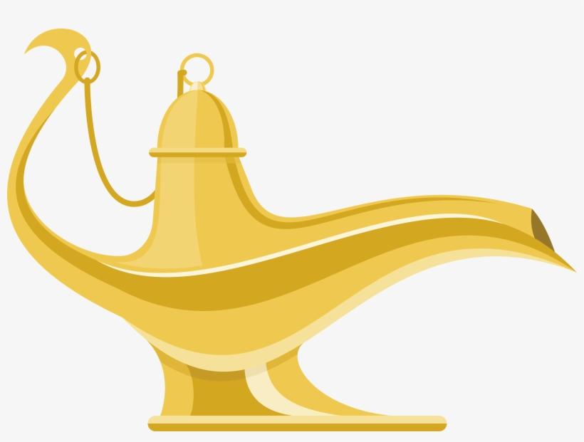 Genie Aladdin Aladdin Magic Lamp Png Free Transparent