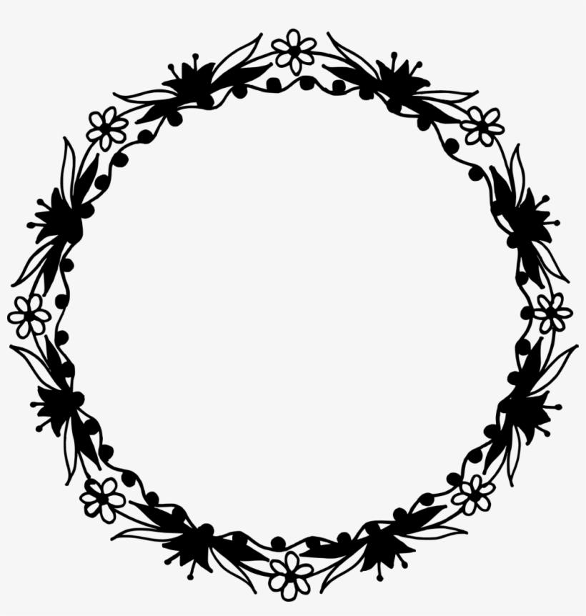 Png File Size - Circle Floral Design Png, transparent png #1080764