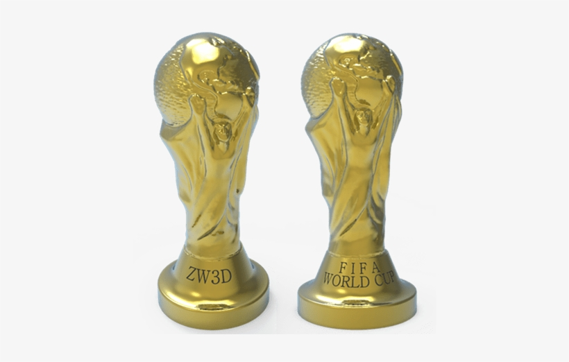 Though The 2018 World Cup Was Over, Our Passion For - Fifa World Cup Trophy, transparent png #1081221