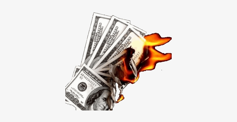 A Number Of Factors Contribute To Error Rates - Money Burning Transparent Gif, transparent png #1081576