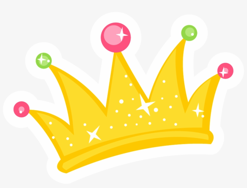 Corona Vector Cute Corona Animada De Princesa Free Transparent