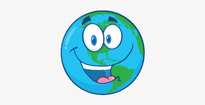 Planeta Tierra Dibujo Animado Free Transparent Png Download Pngkey