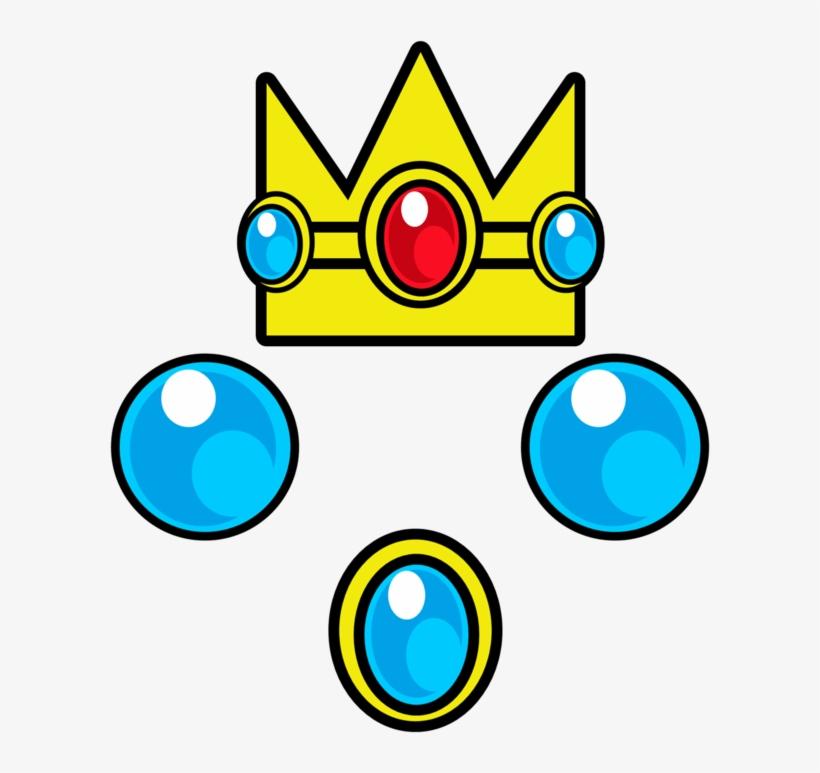 Princess Peach Clipart Crown Super Mario Peach Crown