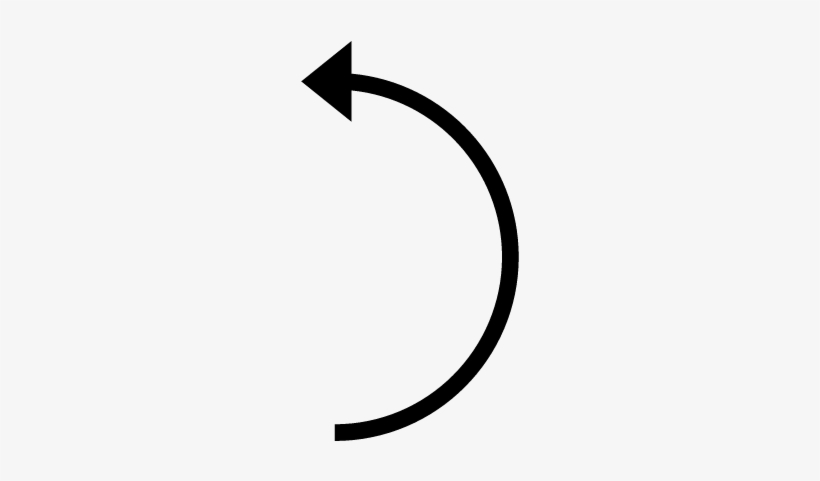 Curved Line With Arrow - Free Transparent PNG Download ...