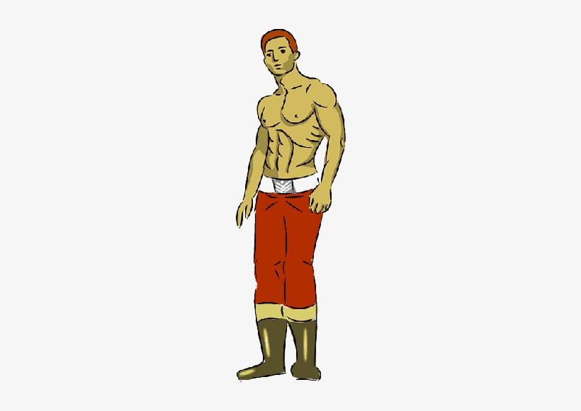 Mb Image/png - Full Body Man Cartoon Png, transparent png #1085320