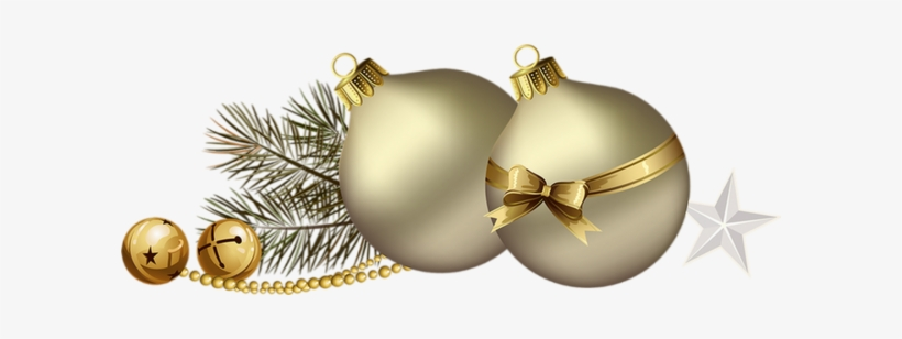 Boule De Noel Or Boules De Noël Png, Tube, Or   Christmas Day   Free Transparent