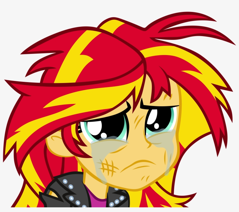 Pinkiespartygirl, Crying, Equestria Girls, Safe, Simple - Sunset Shimmer Gives Birth, transparent png #1090268
