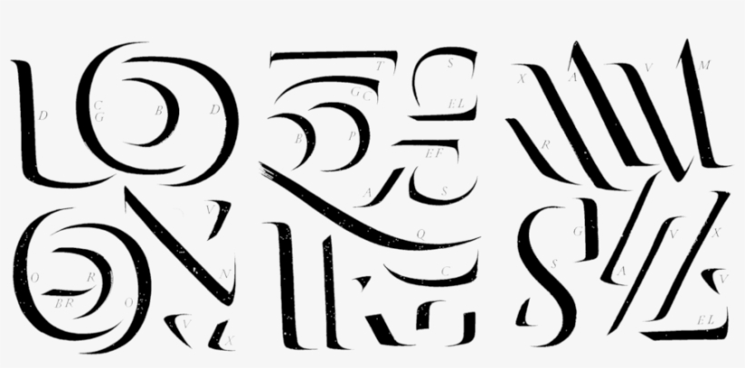 Trazos Pincel Catich Serif Free Transparent Png Download Pngkey