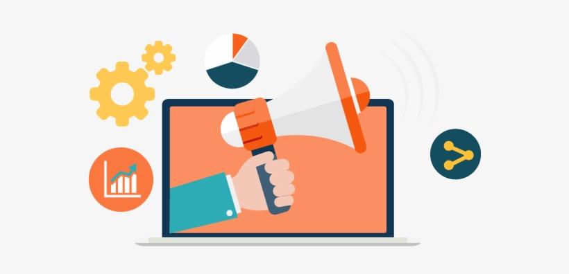 Online Reputation - Digital Marketing Vector Icon Png, transparent png #1091593
