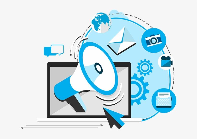 Online Digital Marketing - Transparent Digital Marketing Png, transparent png #1091599