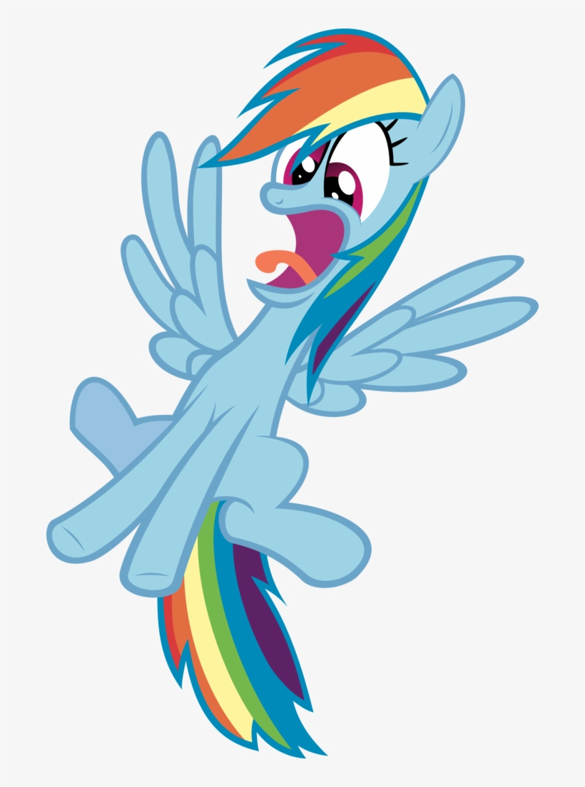 Relaxingonthemoon, Faic, Flying, Le Gasp, Lol, Open - My Little Pony Rainbow Dash Scared, transparent png #1091835