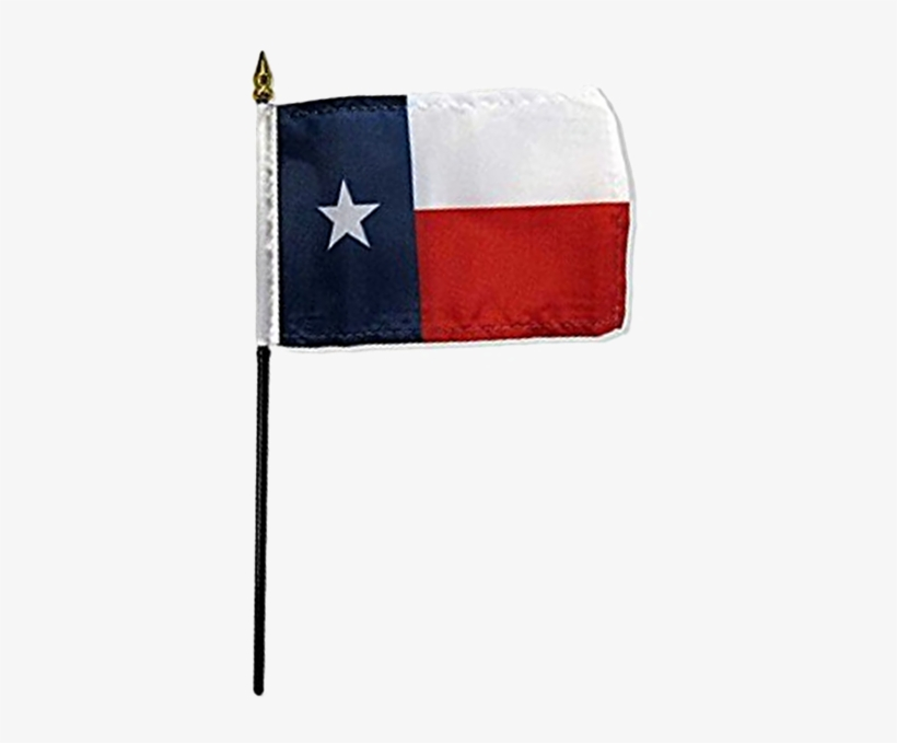 Print Page - Flags Imp Texas 4x6in Stick Flag, transparent png #1092661