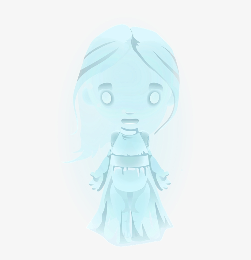 Horror Clipart Cute Halloween Ghost - Funny Halloween Ghost Costume T-shirt, transparent png #1095359
