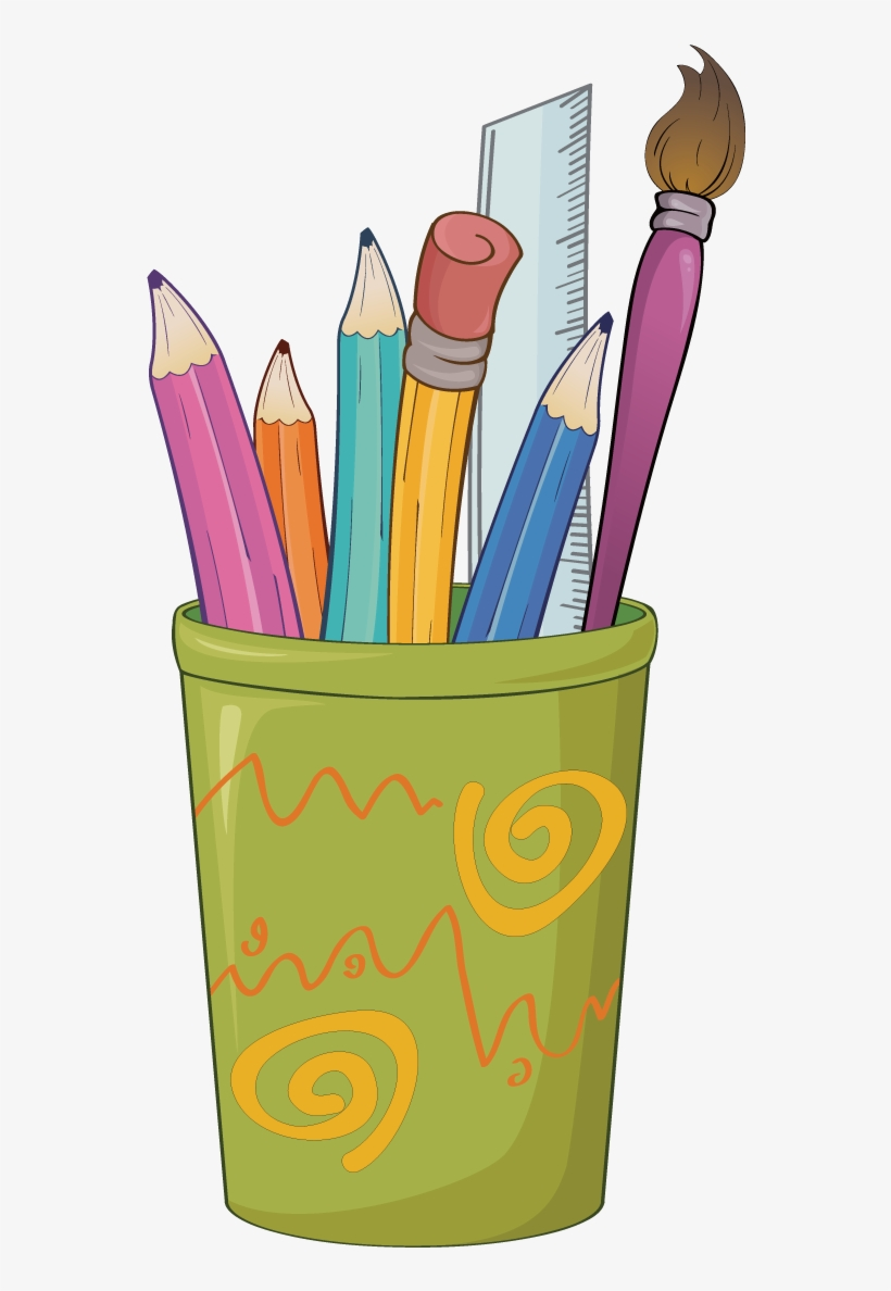 Paper Colored Pencil Drawing Clip Art - Stationery Drawing, transparent png #1095691