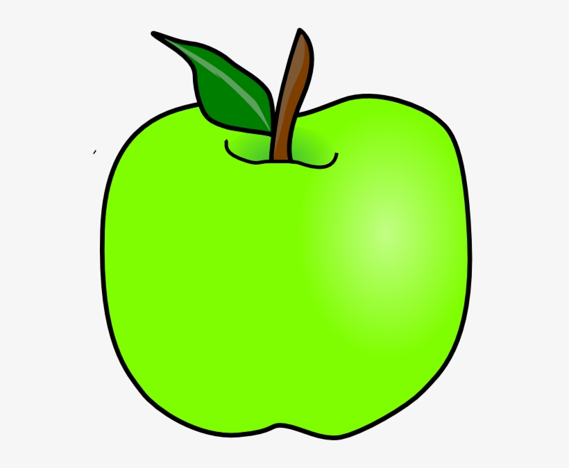 Green Delicious Apple Clip Art - Green Apple Clipart, transparent png #1095994
