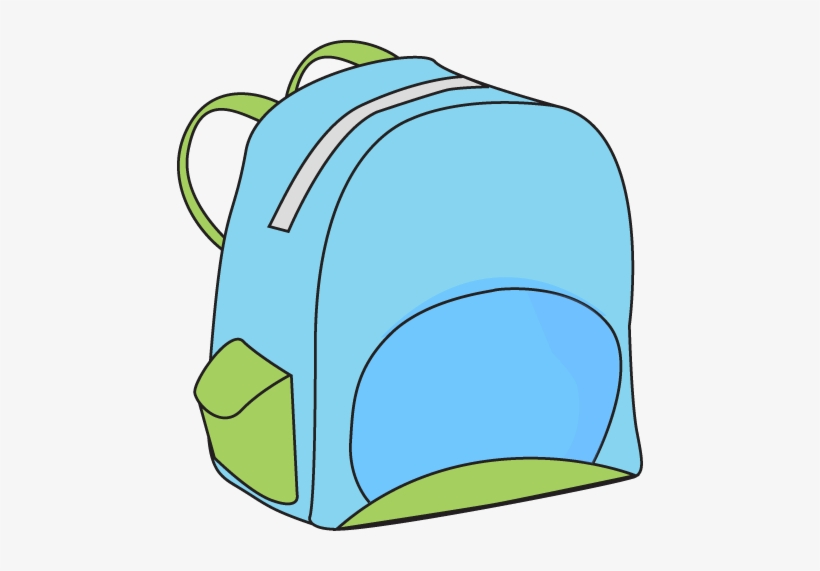 School Backpack - Http - //www - Mycutegraphics - Com/graphics/school - Cute Backpack Clipart, transparent png #1096478