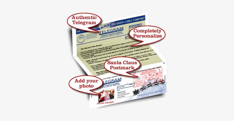 Letter From Santa Customer Appreciation Program - Santa Claus, transparent png #1096920