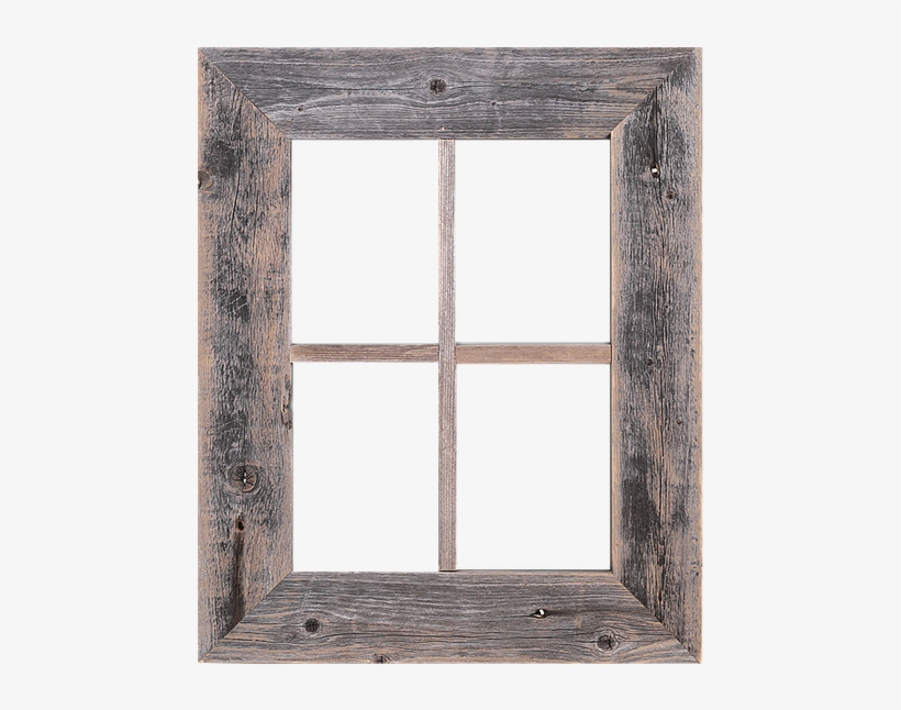 Rustic Decor Old Rustic Barn Window Frame, transparent png #1097784