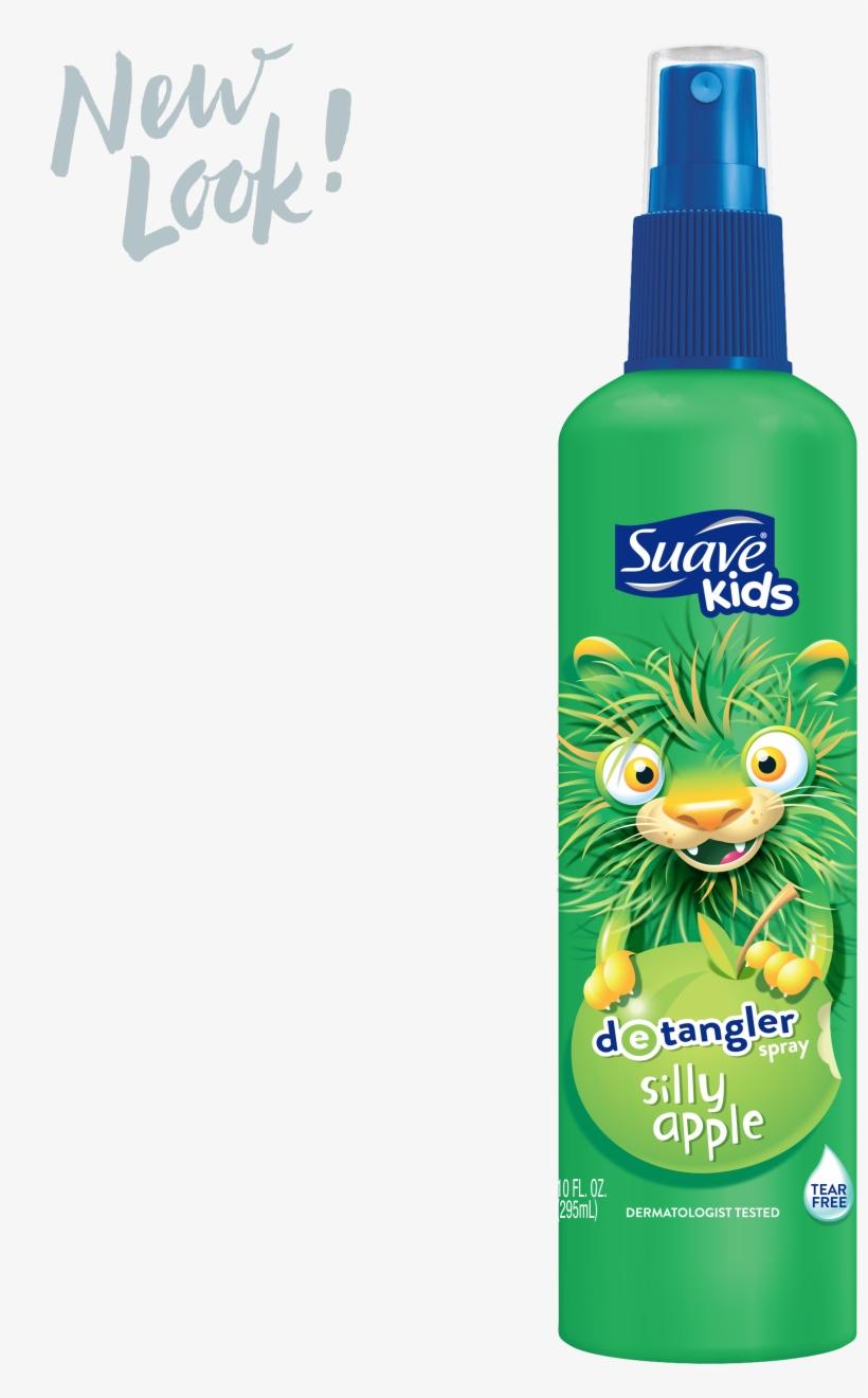 Apple Detangler Spray Suave Kids Png Apple Spray Chemicals - Suave Kids Detangler Spray, transparent png #1098499